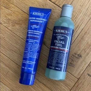 Kiehl's Men's Gift Set: Face wash and shave cream